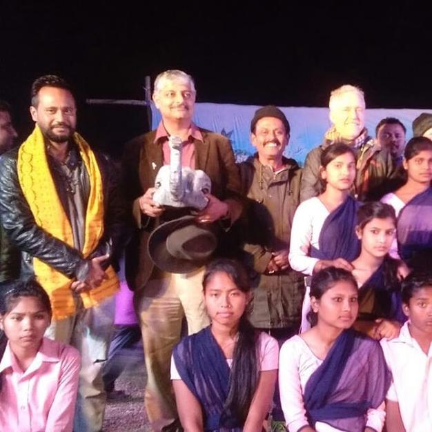 Felicitation by Wildlife Trust Of India
