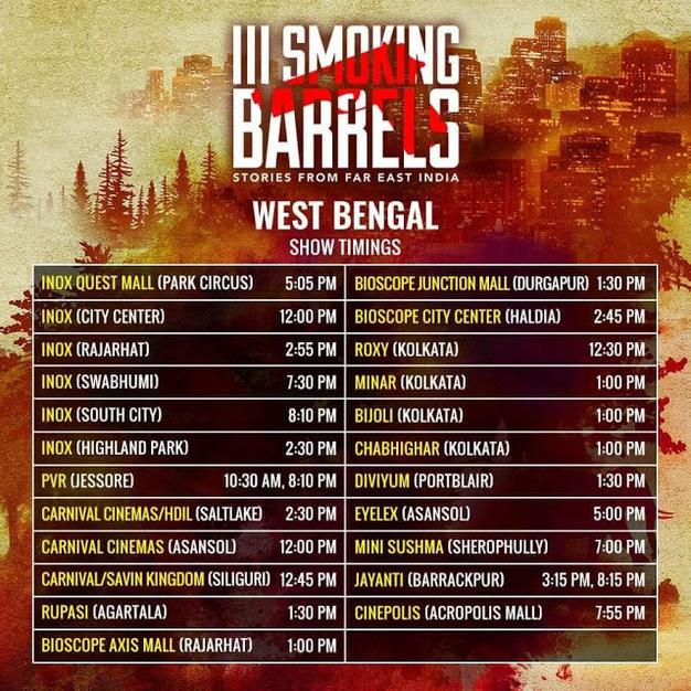 Kolkata Theatre List