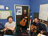 Hollow Mountain String band on Oban Fm.j