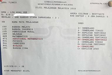 SPM Results Pusat Tuisyen Teliti 3