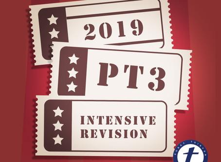 PT3 Intensive Class 2019