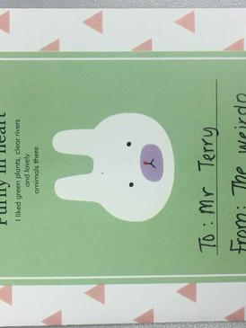 Gratitude Card Teliti Tuition Centre 2