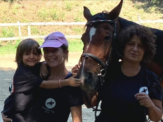 Arezzo, a cavallo nella natura anche in agosto alla Scuderia Pan