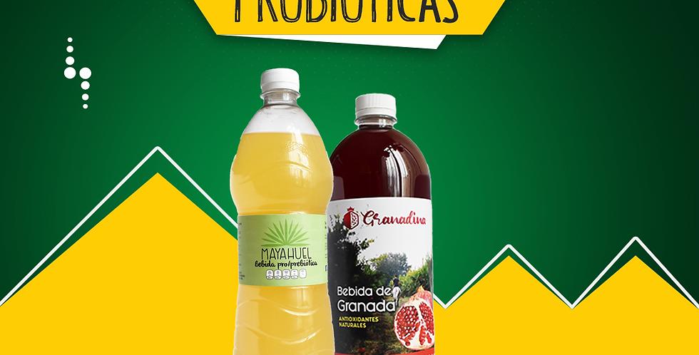 Bebida Mayahuel y Granadina 30 Días de Consumo