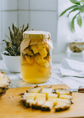 fermented-pineapple-kombucha-drink-tepache-cooking-process-of-homemade-probiotic-superfood