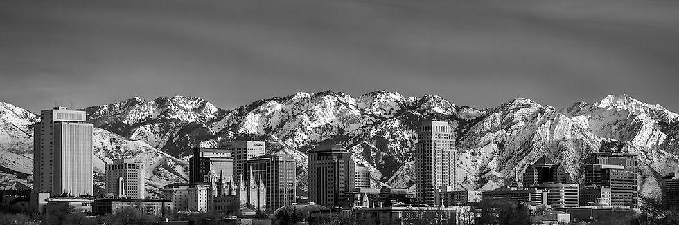 Salt-Lake-City-Skyline-Black-and-White-P
