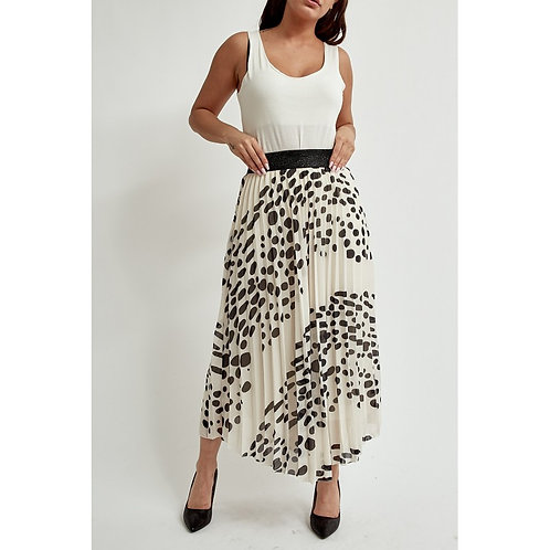 Dotty Pleated Skirts - Various colours
