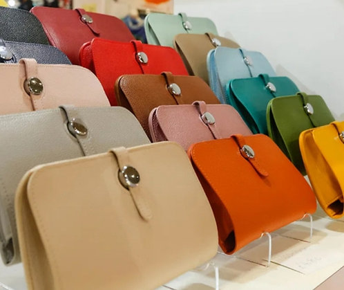 Designer Style Purse - choice of colours