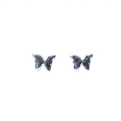 Envy Butterfly Studs- Silver