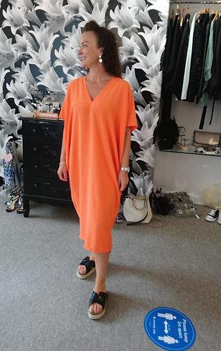 Kimono Dress - Orange