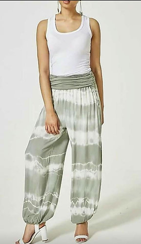 Tie Dye Harem Trousers - Choice of colours
