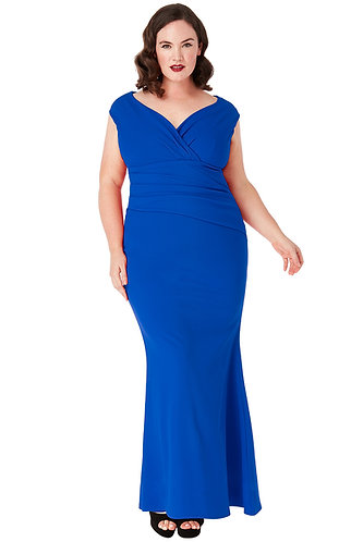 Ball Gown - Royal blue