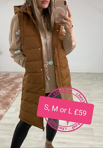 Padded gillet - choice of colours