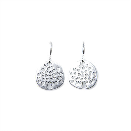 Envy Tree Earings - silver