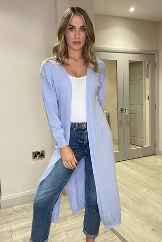 Long colourful cardigans - choice of colours