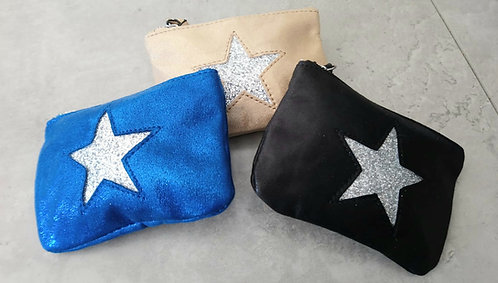 Star coin purses