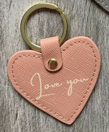 Message keyrings - various messages and colours