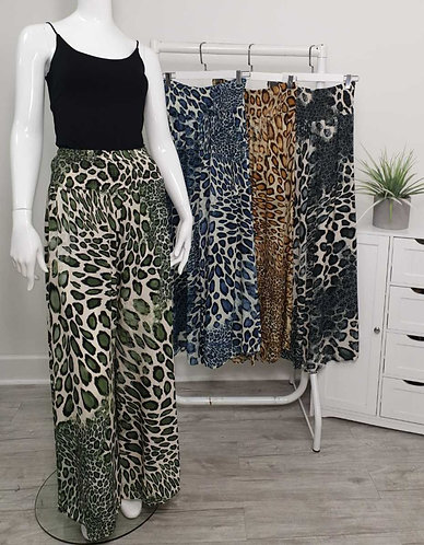 Wide leg trousers - choice of colours