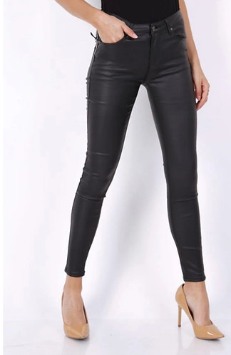 Stretch High Waisted pva Jeans - Black