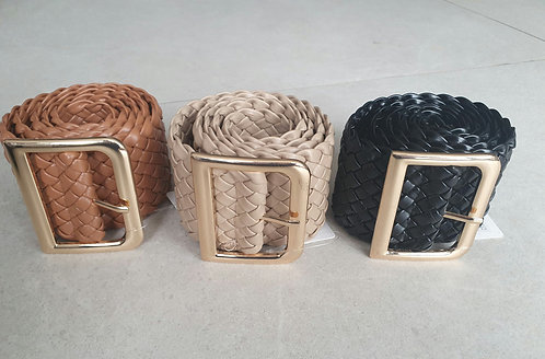 Weave belt - Choice of colours