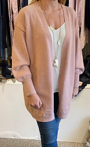 Bell sleeved cardigan- choice of 3 colours