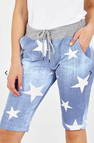 Star shorts - Dark or light denim