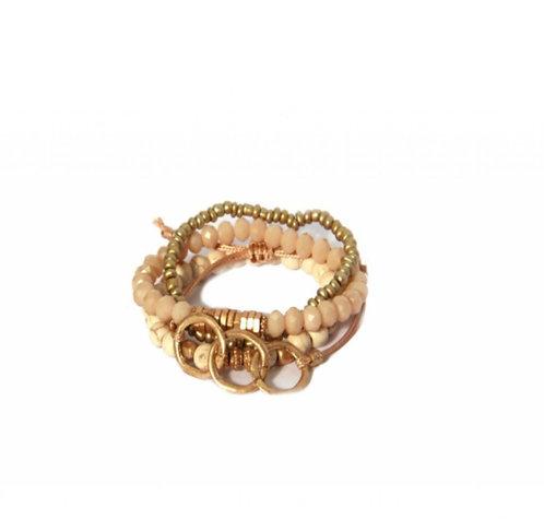 Envy beaded 4 layer Bracelet