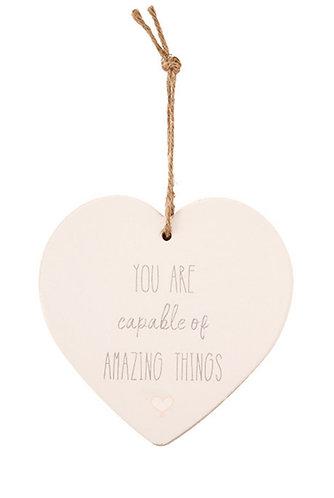 Heart hanger - amazing