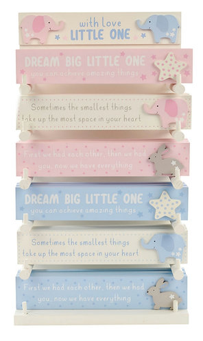Dream big little one - pink or blue