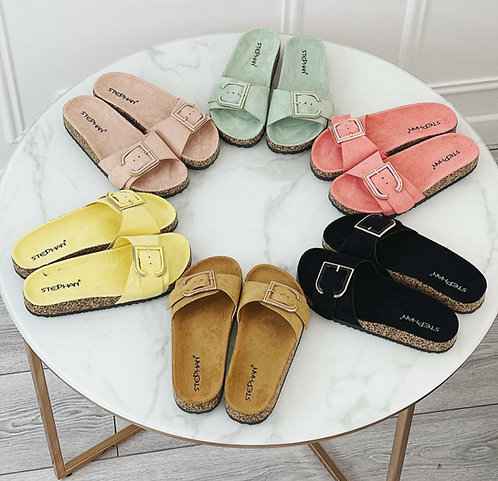 Buckle sliders - Choice of colours