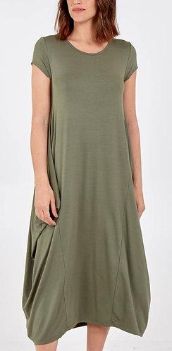 Cap sleeve parachute dress - Choice of colours