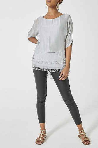 Silk Layer Hi-Low top - Various colours