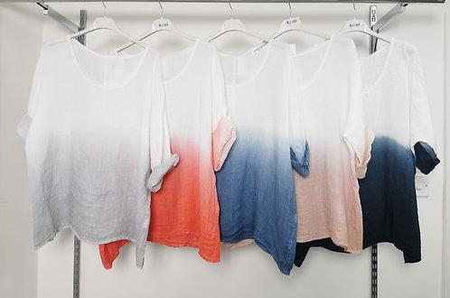 Tie dye Linen - Choice of colours
