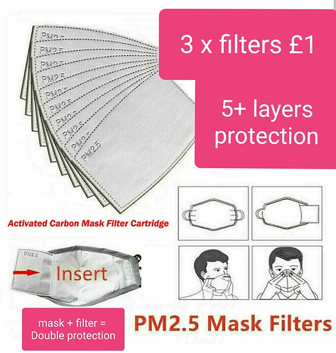 Replacement Filter Papers pack
