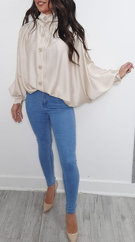 Batwing blouse - choice of colours