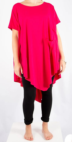 Hanki hem cotton tunic - various colours