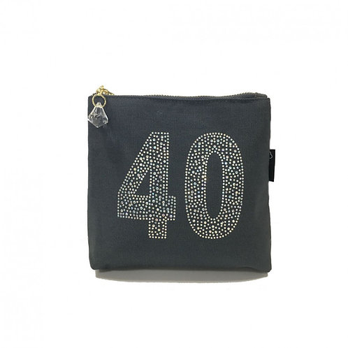 Birthday Make Up Bag - 40