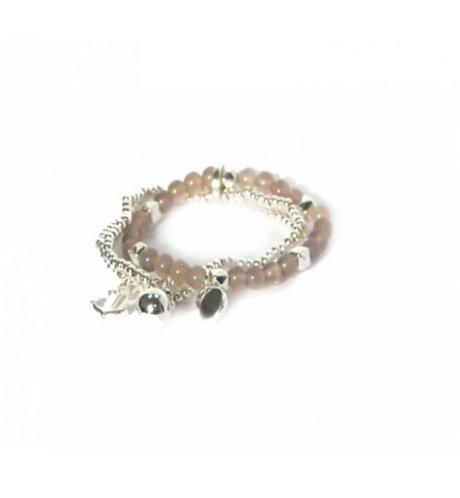 Envy triple Bracelet- silver