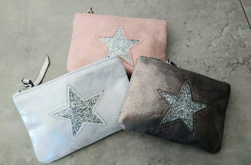 Star coin purses - small - choice of colours