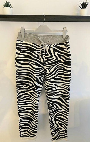 Zebra Joggers