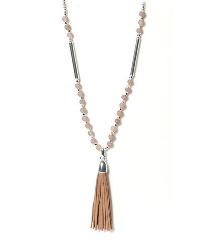 Envy Tassle Necklace - silver