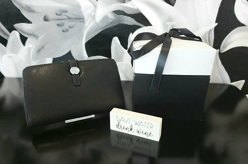 Black and white gift bundle - choice of sign