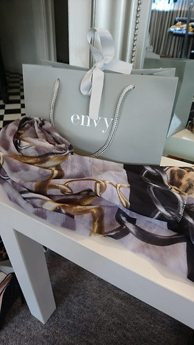 Envy scarf - With Gift Bag - Chain