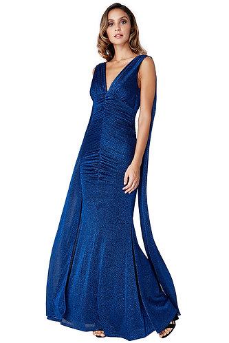 Angel Dress - Navy Sparkle