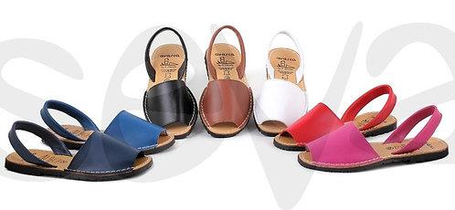 Menorcan Sandals - White - Plain