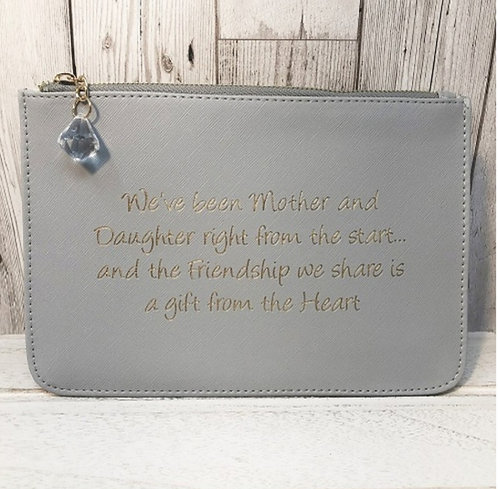 Slogan Pouch - mother / daughter