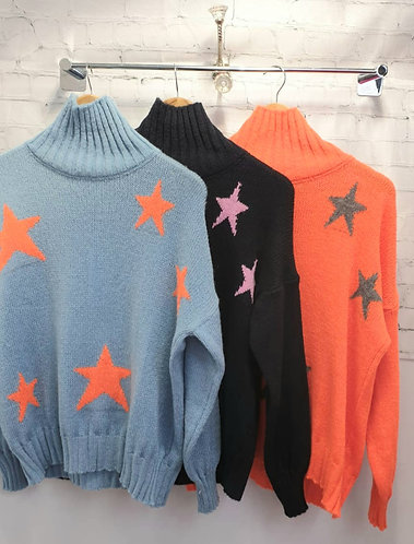 Star jumper - various colours