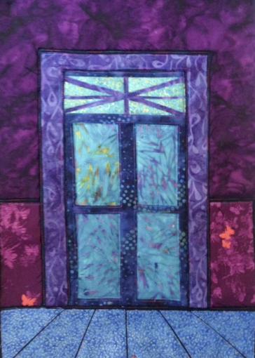 Doorway quilt 1