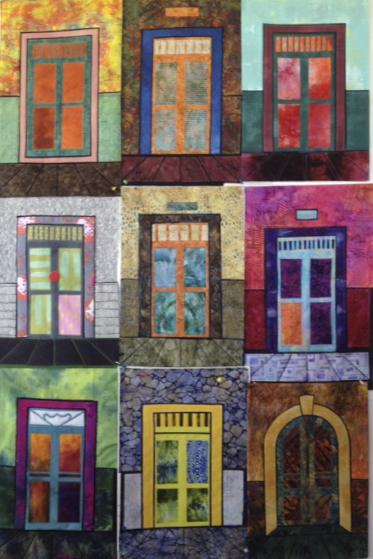 Poster of doorway quilts 2