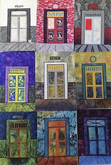 Poster of doorway quilts 1